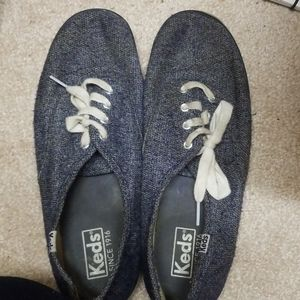 Soft denim keds